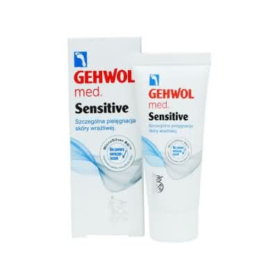 GEHWOL med Sensitive z mikrosrebrem 20 ml
