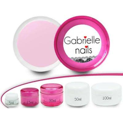 Żel LED i UV Gabrielle Jednofazowy Pink Milk 15ml