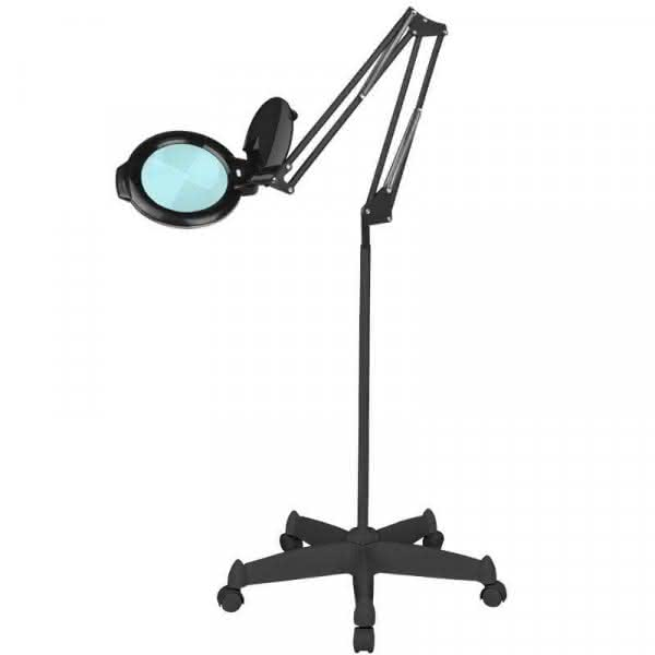 "LAMPA LUPA LED MOONLIGHT 8013/6"" BLACK ZE STATYWEM"