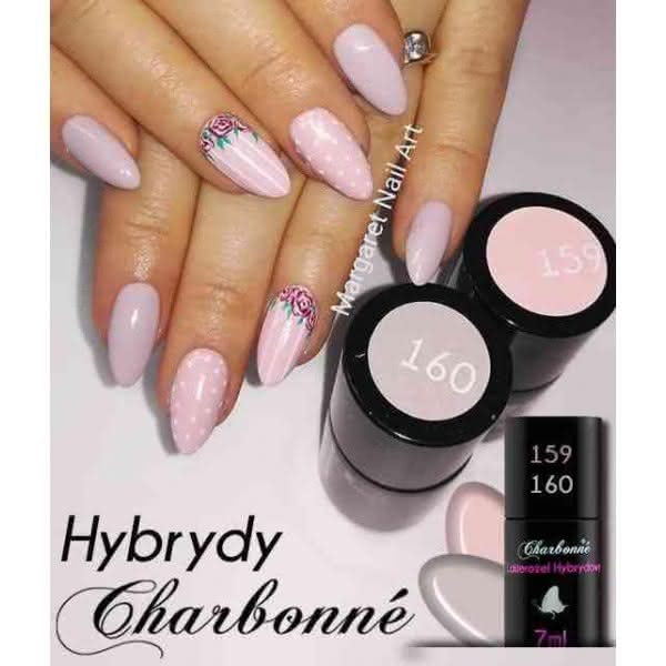 Lakier Hybrydowy CHARBONNE 7 ml kolor 159 - Perfect Nude